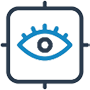 icon of an eye in a target to represent Plaquenil Eye Exams vaughan