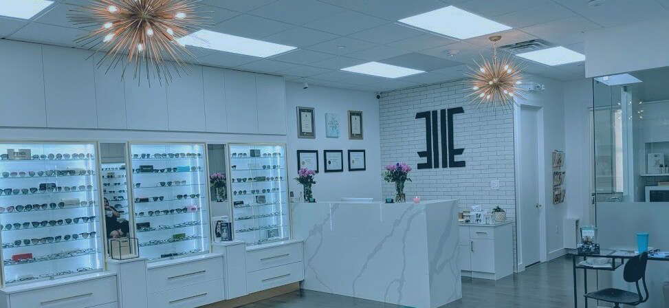 Picture showcasing the interior of our Vaughan optometrist clinic - Empire Eyewear