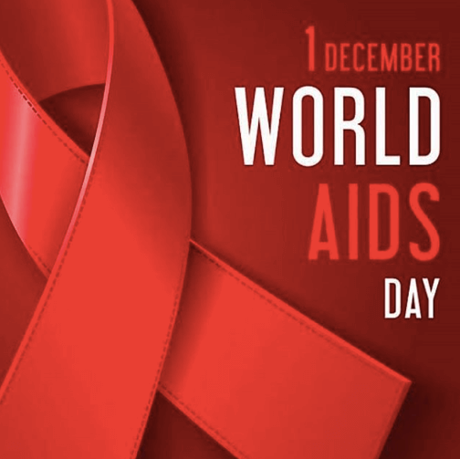 Graphic for World Aids Day Empire